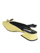 Yuul Yie Block Heel Back Strap Pumps - Giallo