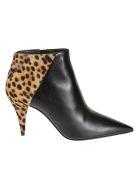 Saint Laurent Boots ANIMAL PRINT ANKLE BOOTS