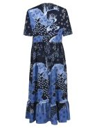 RED Valentino All-over Printed Dress - Blue