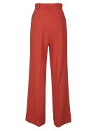 See by Chloé Structured Flared Trousers - Red
