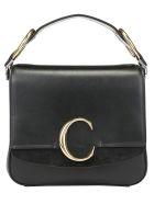 Chloé Small Square Shoulder Bag - Black