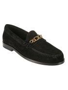 Celine Chain Loafers - Black