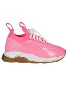 Versace Cross Chainer Sneakers - Pink fluo