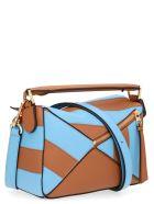 Loewe 'puzzle Marine' Bag - Multicolor