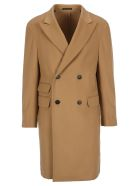 Z Zegna Coats Z-ZEGNA DOUBLE-BREASTED COAT