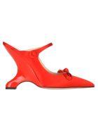 Prada Wedge Show - RED