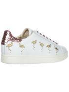 M.O.A. master of arts Moa Master Of Arts Victoria Flamingo Sneakers - Bianco
