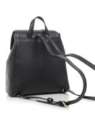 DKNY Whitney Flap Backpac - Bgd Blk Gold