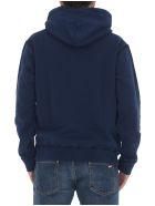 Dsquared2 Logo Hoodie - Blue