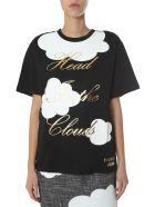Boutique Moschino Round Neck T-shirt - NERO