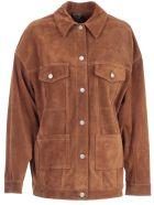 Giorgio Brato Leather Jacket - Sigaro