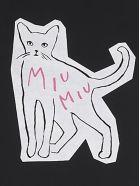 Miu Miu 'sign Of Love' T-shirt - Black