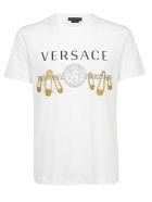 Versace T-shirt - Bianco/oro