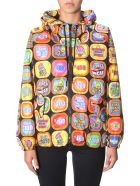 Moschino Hooded Jacket - MULTICOLOR