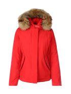 Woolrich Short Arctic Parka - Msc  Marine Scarlet