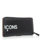Comme des Garçons Wallet Wallet Huge Logo - Black