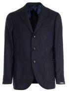 Barba Napoli Coat - Blu