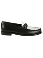 Celine Triomphe Loafers - Black/white
