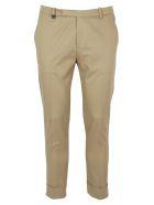 Hosio Basic Pants - Brown