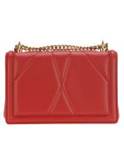 Dolce & Gabbana Dolce&gabbana Medium Devotion Crossbody Bag - RED