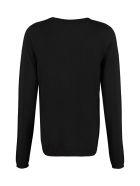 Parosh Loon Wool V-neck Sweater - black