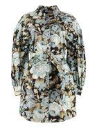 Parosh Cotton Shirt Dress - Multicolor