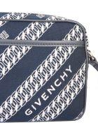 Givenchy Chain Print Cross-body Bag - Blu scuro