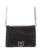 Marc Ellis Totes Marc Ellis Tote Hailee Bag In Black Laminated Leather