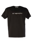 Givenchy Embroider Logo - Black
