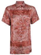 Golden Goose Clarissa Pajama Shirt - Orient Red