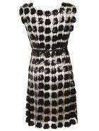 Emporio Armani Embroidered Dress - Black