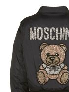 Moschino Teddy Bear Bomber - Nero