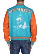 Off-White Two-tone Sport Jacket - Multicolor