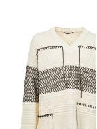 Roberto Cavalli Knitted Sweater - Beige nero