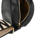 Stella McCartney Mini Stella Logo Crossbody Bag - BLACK