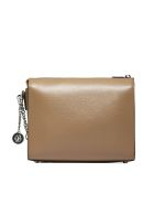 DKNY Structured Shoulder Bag - Nocciola