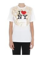 Versace I Love Ny T-shirt - White