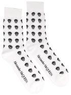 Alexander McQueen Skull Socks - White