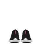 Prada Linea Rossa Waffle Texture Sneakers - Nero bianco