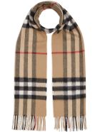 Burberry Giant Check Scarf - Archive Beige