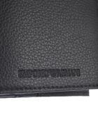 Emporio Armani Leather Wallet - Nero