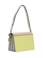 Marni Trunk Leather Shoulder Bag - Yellow