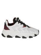 Ash Extreme Sneakers - White/bordeaux