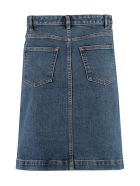A.P.C. Therese Denim Skirt - Denim