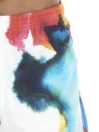 Alexander McQueen 'ink Flower' Swimsuit - Multicolor