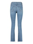 Mother High Waisted Rascal Ankle Snip 5-pocket Jeans - Denim