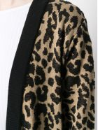 Be Blumarine Printed Leo Coat - Beige/nero