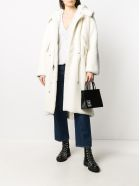 Mr & Mrs Italy Nick Wooster Unisex Parka M51 In Lamb Fur - WHITE / WHITE