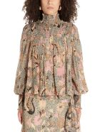 Ulla Johnson 'dune' Blouse - Multicolor