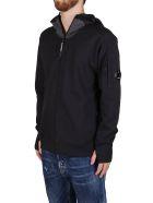 C.P. Company Black Cottn Sweatshirt - Black